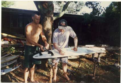 Mr Tom Curren & Mark début 90's