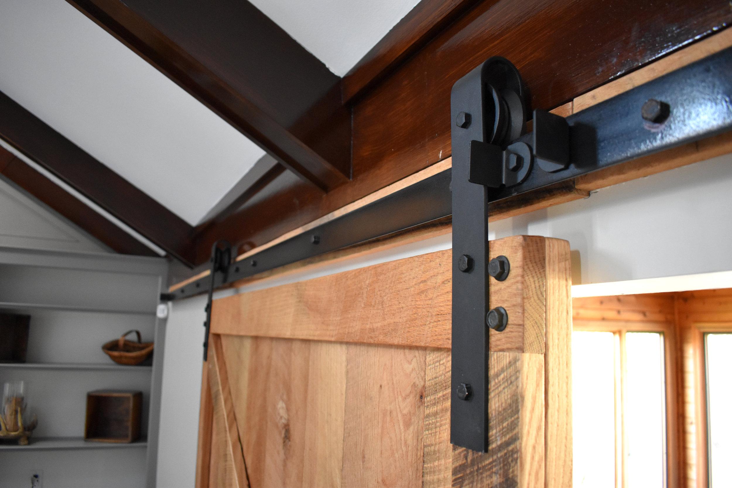 attachment barn barns after lumber slider frank door