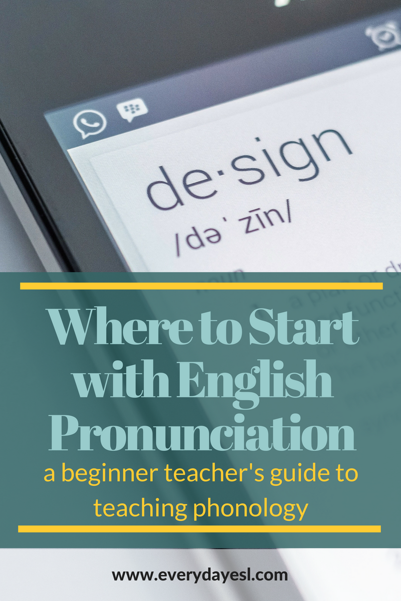 Where to Start with English Pronunciation | Teaching English | Adult ESL | Phonology | How to Teaching English