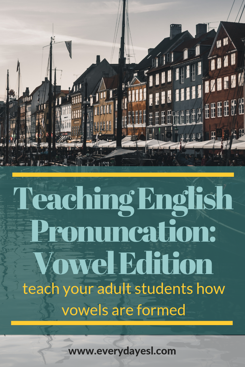 Improve Your Students' Vowel Pronunciation: The 4 Aspects of Vowel Formation in English