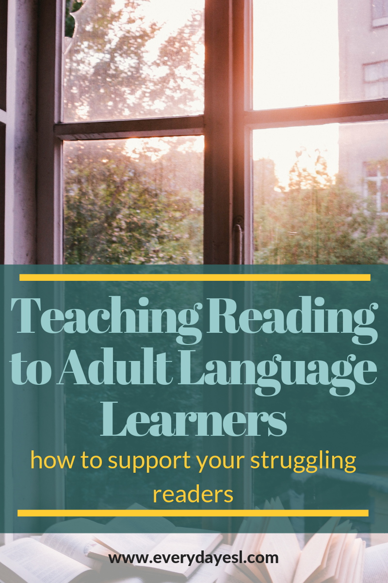 Supporting Struggling Readers: 5 Alternatives to Comprehension Questions | Everyday ESL | Adult ESL | Adult Literacy | ESL Phonics for Adults | Phonics | Reading Comprehension Adult ESL |