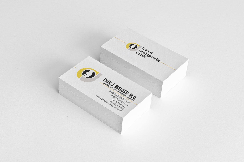 Doctors business cards jewett ortho print materials doctors business cards colourmoves