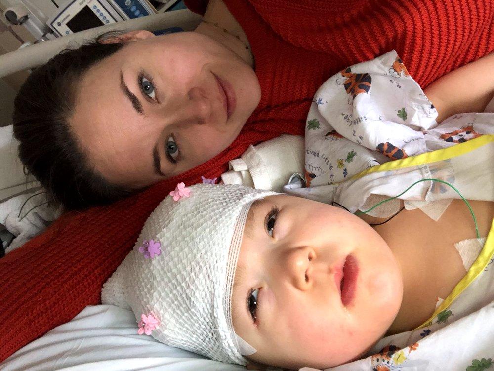 2/21/19 Hospital selfie life