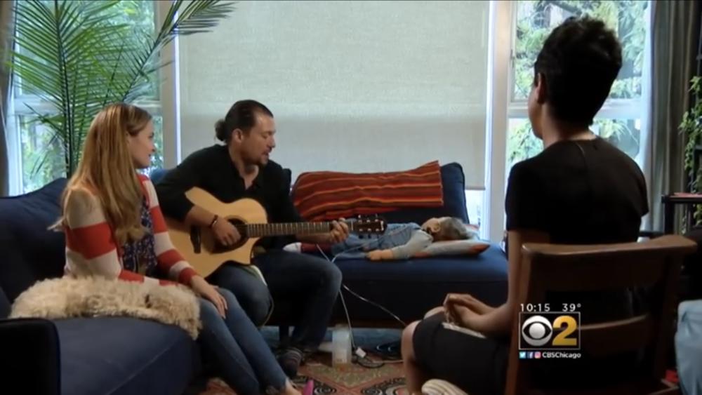 CBS 2 Chicago: Hamilton star's daughter battles epilepsy 10/14/18
