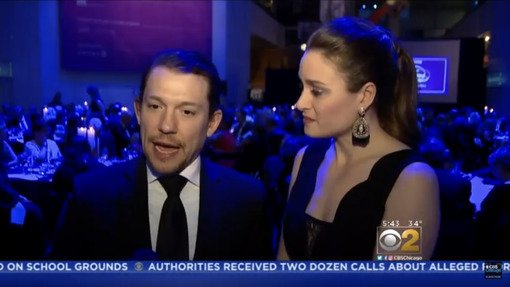 CBS 2 Chicago: Hamilton star honored for his fight against epilepsy 2/24/2018