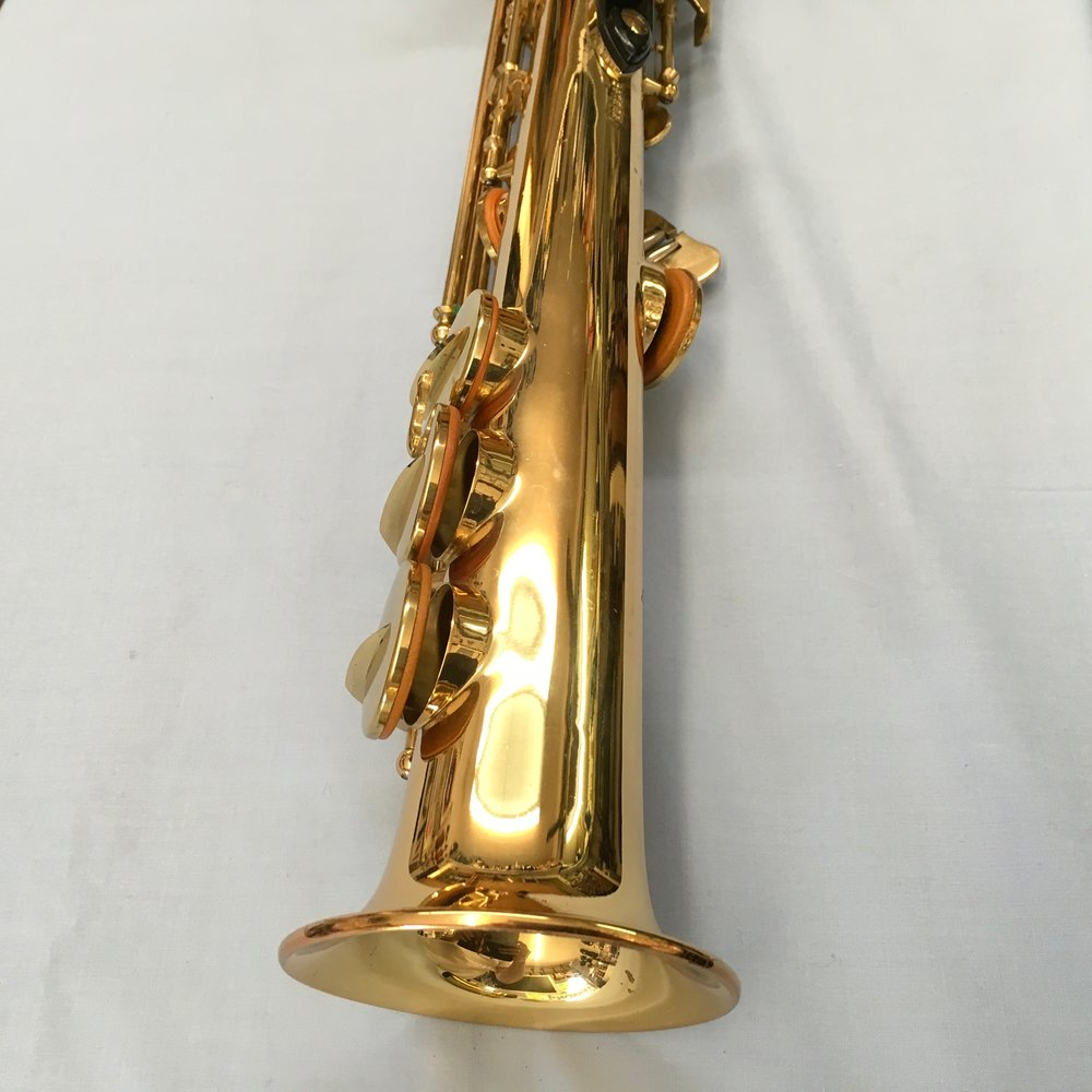 Winston Soprano Sax Model 350 GL With Case 449.00