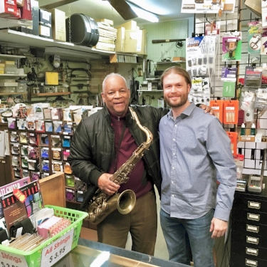 PAT OVERHAULED THE LEGENDARY BOOTSIE BARNES' SELMER MARK VI TENOR SAX