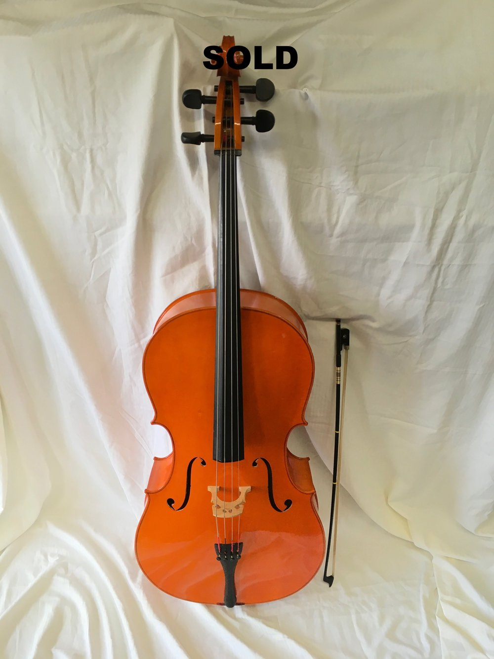 SOLD PT Cello 4/4 495.00