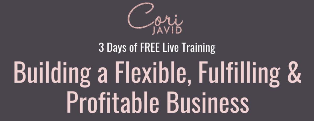 Building a Flexible, Fulfilling & Profitable Business