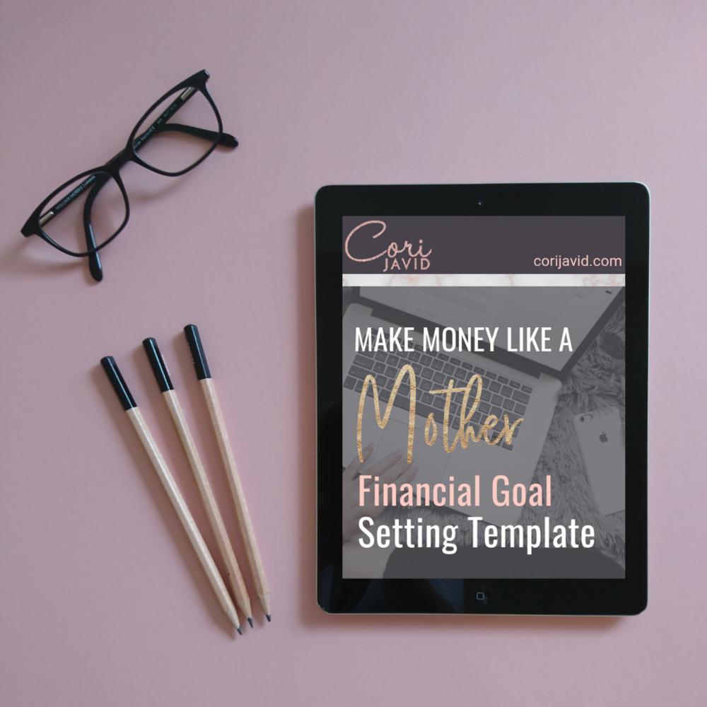 Financial Goal Setting Template
