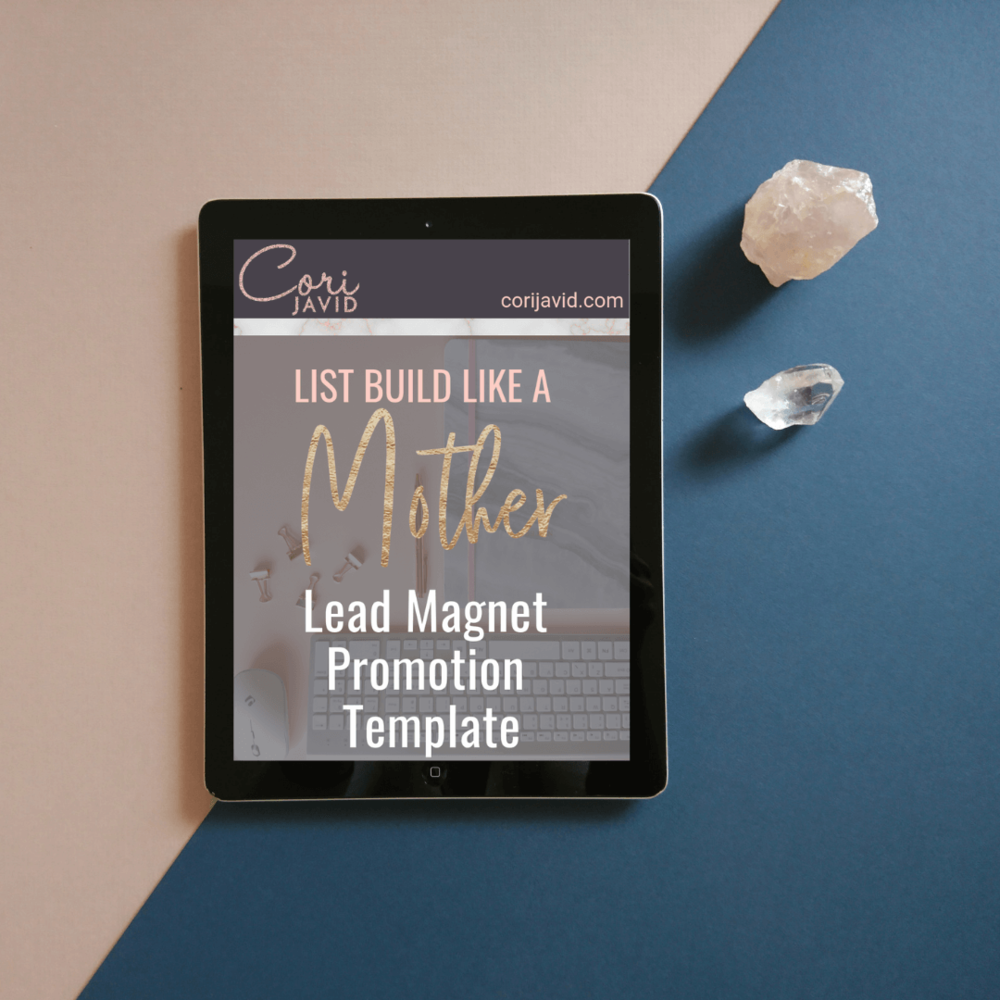 Lead Magnet Promotion Template