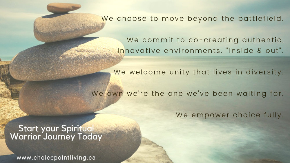 We choose to move beyond the battlefield.We commit to co-creating authentic, innovative environments for communities to thrive, together.We're empowered co-creators who welcome unity that lives in diversity.We know w.jpg