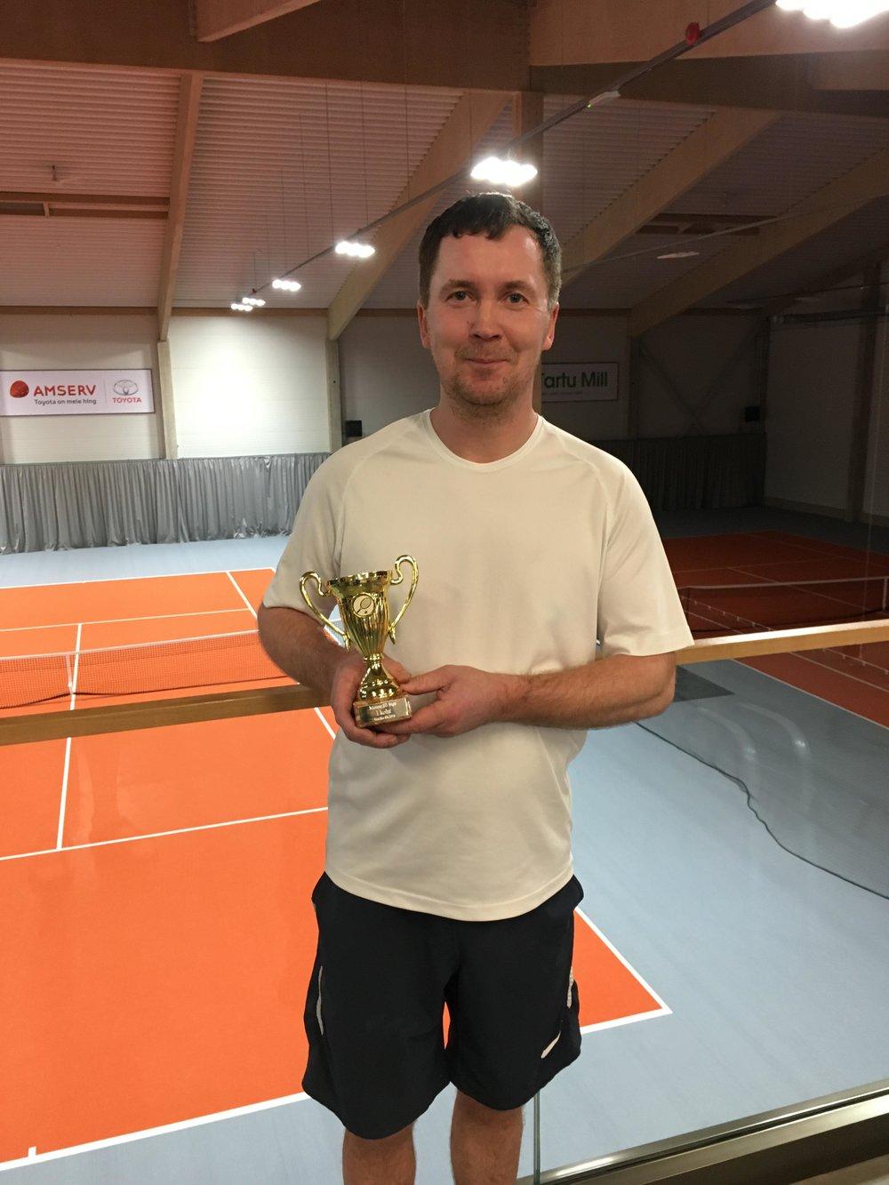 Võitja Timo Tammik