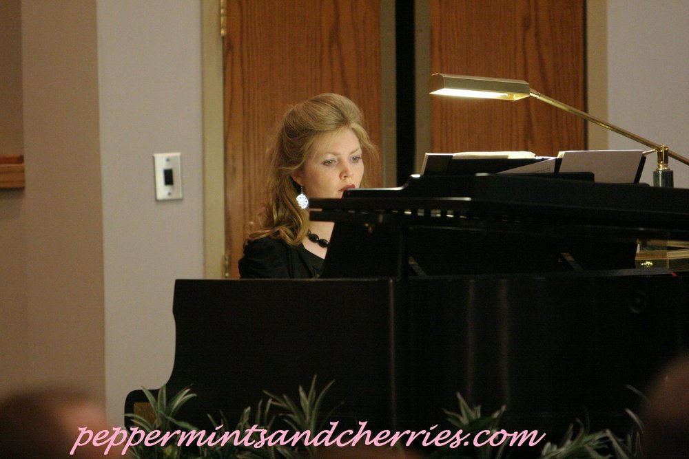 Kristin at the Piano