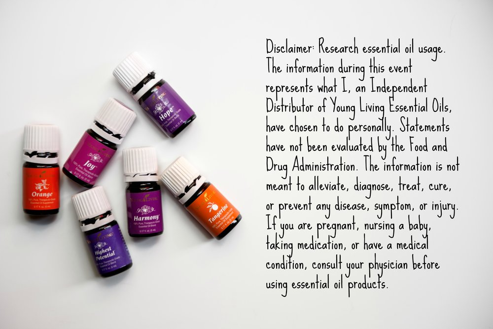 Essential Oil Disclaimer