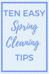 10 Tips for Easy Spring Cleaning from A Sprinkle of Joy