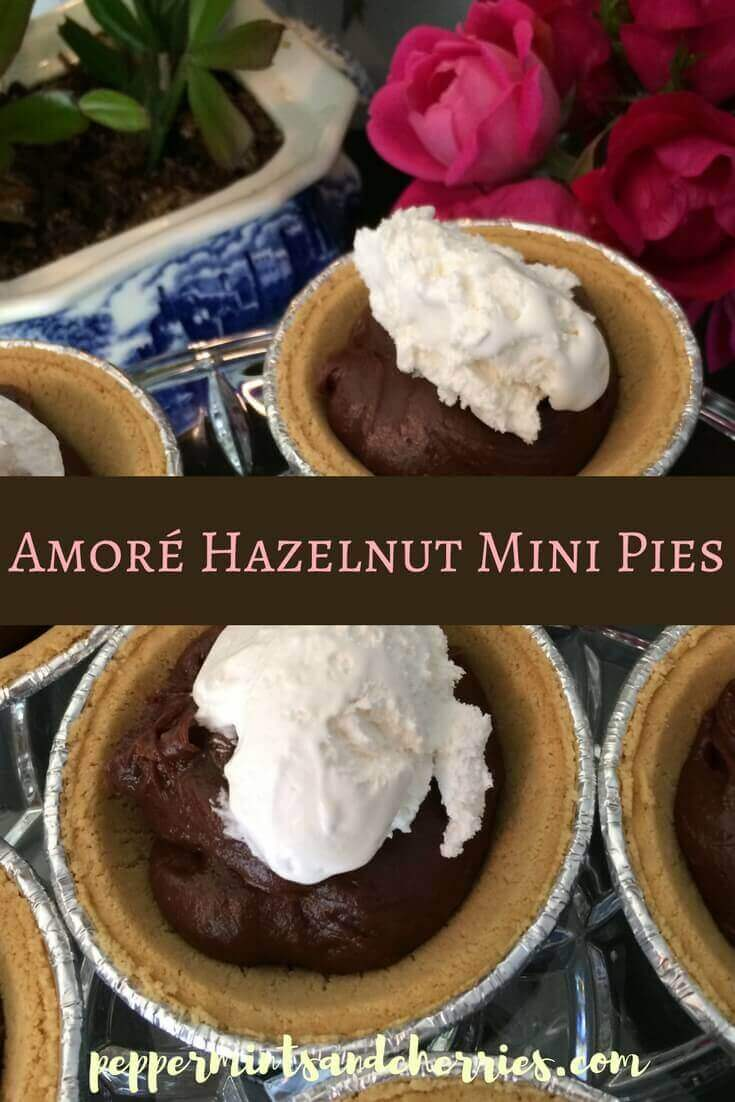 Amoré Hazelnut Mini Pies Recipe & a Review of Once Again™ Amoré Hazelnut Spread