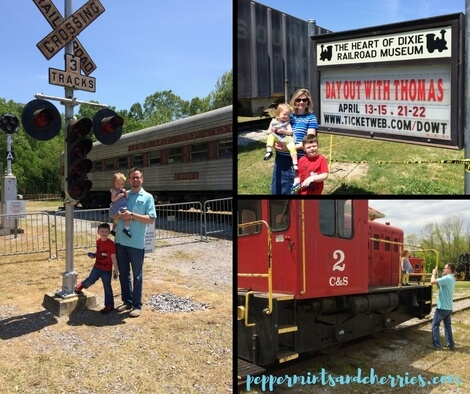 Heart of Dixie Railroad Museum Day Out With Thomas™ Big Adventures Tour 2018 Calera Alabama www.peppermintsandcherries.com