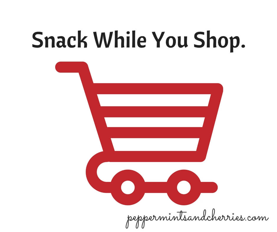 Snack While You Shop.