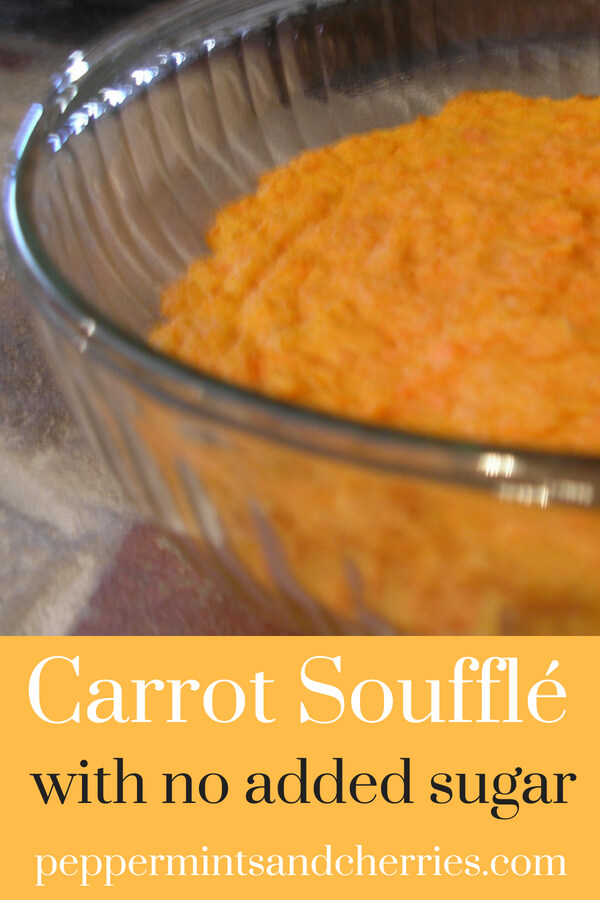Recipe for Carrot Souffle Using Young Living's Cinnamon and Nutmeg Vitality Oils www.peppermintsandcherries.com