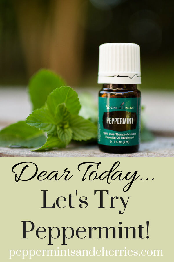 Essential Oils 101 with Young Living's Peppermint Oil www.peppermintsandcherries.com