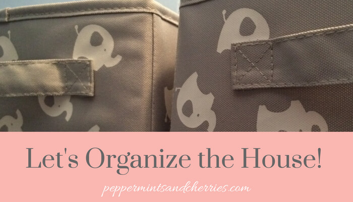 Let's Organize the House! Home Organization Tips