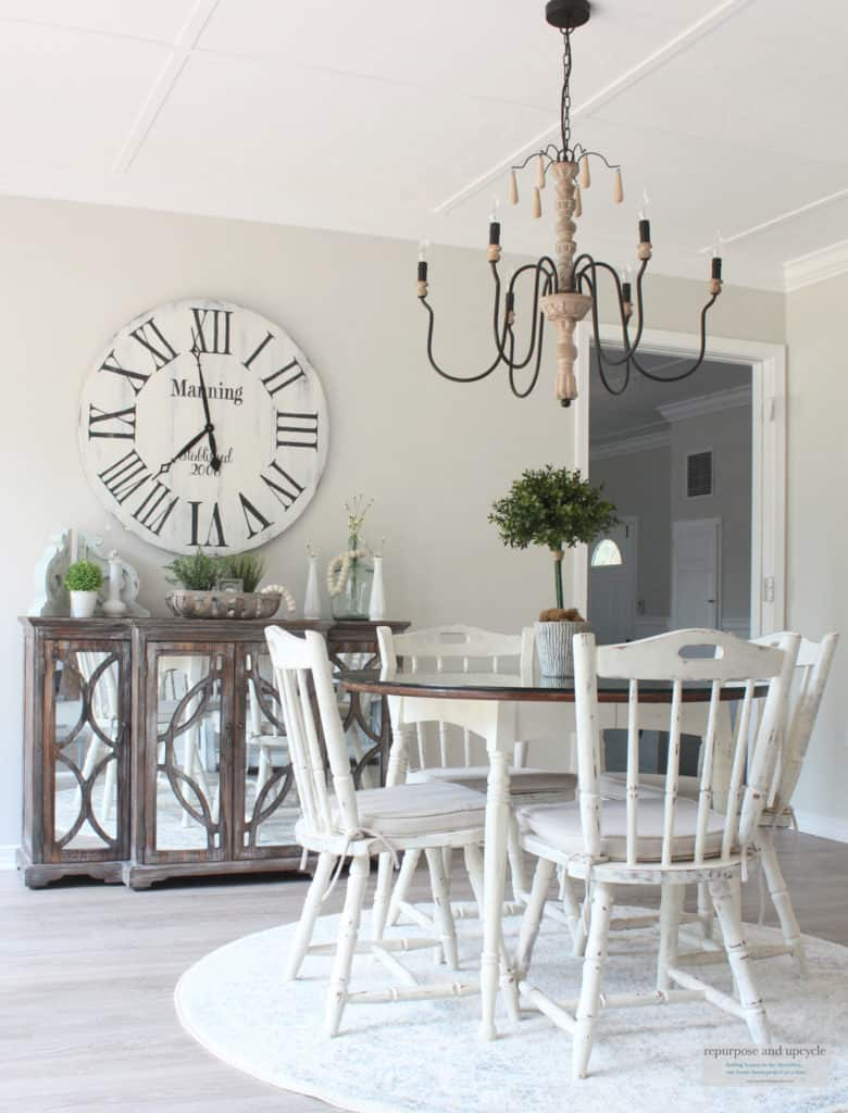 Rustic Beach Cottage Dining Room from Repurpose and Upcycle