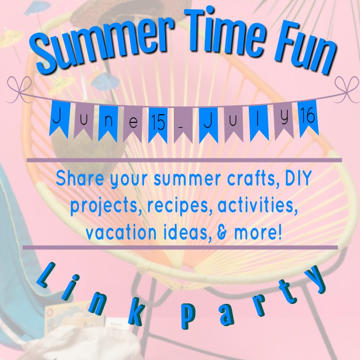 Summer Time Fun Link Party at www.peppermintsandcherries.com