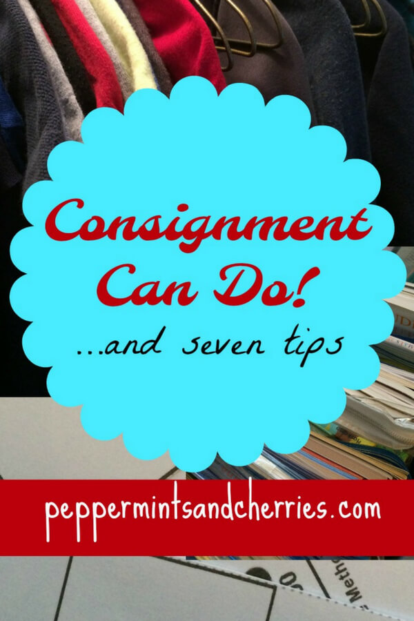 Tips for Consignment Sales www.peppermintsandcherries.com