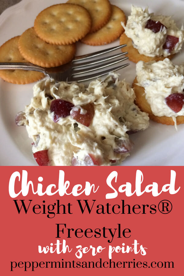 Weight Watchers® Freestyle Chicken Salad with Zero Points www.peppermintsandcherries.com