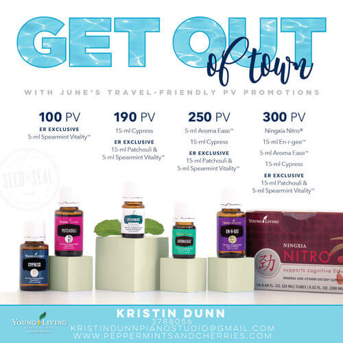 June 2017 Young Living Promotions