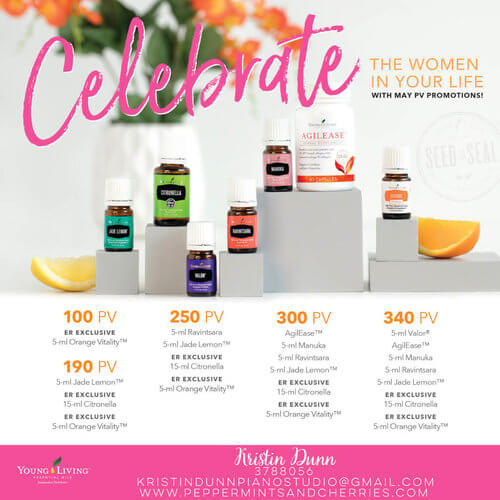 Young Living's Promotions for May 2017