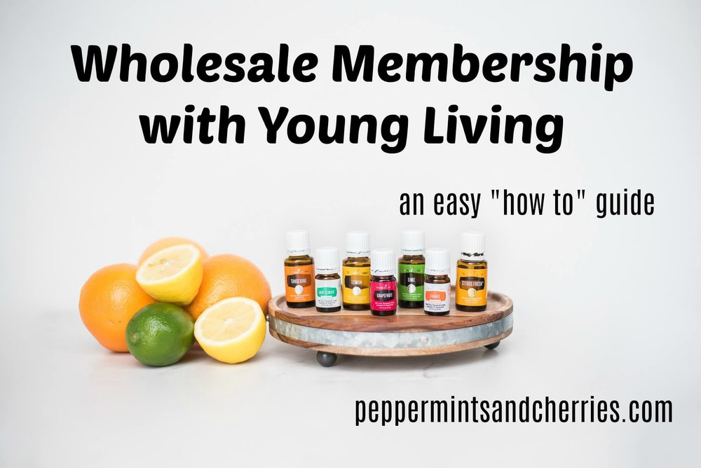 Wholesale Membership with Young Living