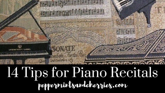 14 Tips for Piano Recitals