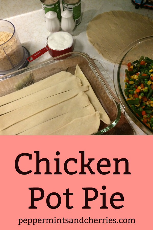 Easy Chicken Pot Pie Recipe #chicken #chickenpotpierecipe #easychickenrecipes