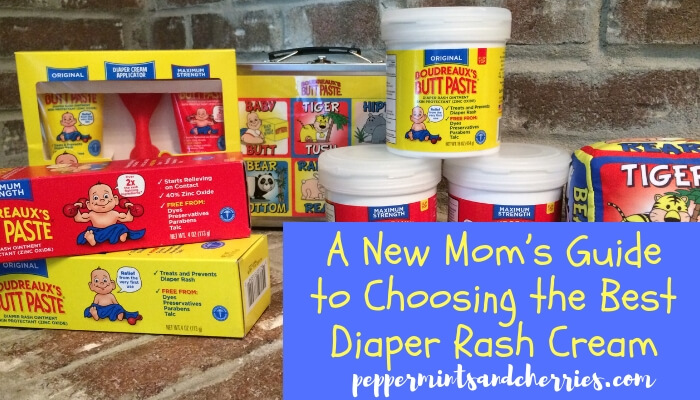 A New Mom's Guide to Choosing the Best Diaper Rash Cream