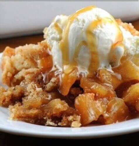 Marilyn's Treats –Culinary Delights, Tips, and Treats to Make Life Easier featuring A1 Apple Pie Cobbler