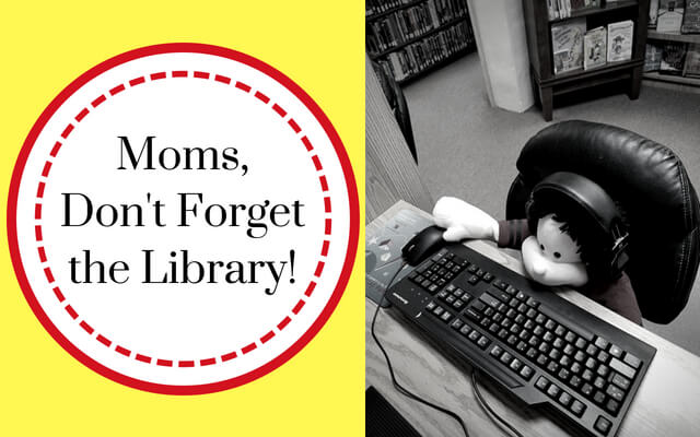 Guest Post for Homeschooling with Heart Blog  -  Moms, Don't Forget the Library!
