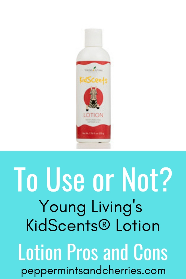 Young Living's KidScents® Lotion is hands down one of my favorite lotions to moisturize dry skin. I can feel good about the ingredients and have healthy, beautiful skin! #lotion #naturalbeautyskincare #youngliving #younglivingaffiliate #skincare #younglivingessentialoils