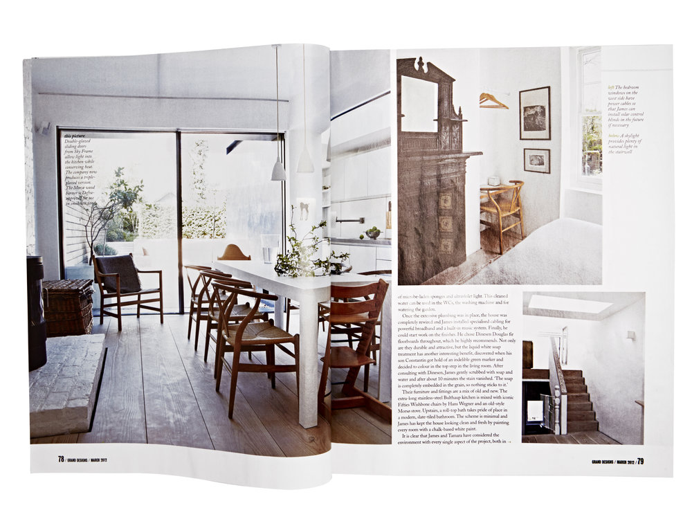 Grand Designs  Feature and Styling by Victoria Tunstall  Photography by Graham Atkins Hughes