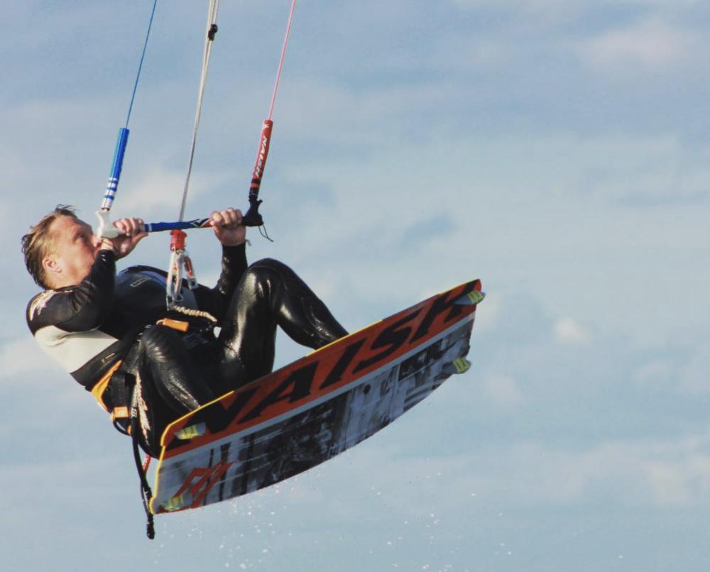 Olaf - Position: Event ManagerGröße: 175 cmKites: Naish RideBoard: Naish Motion