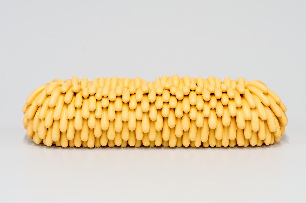Peach Loaf, 2015  Ceramic  30 x 7 x 10 cm