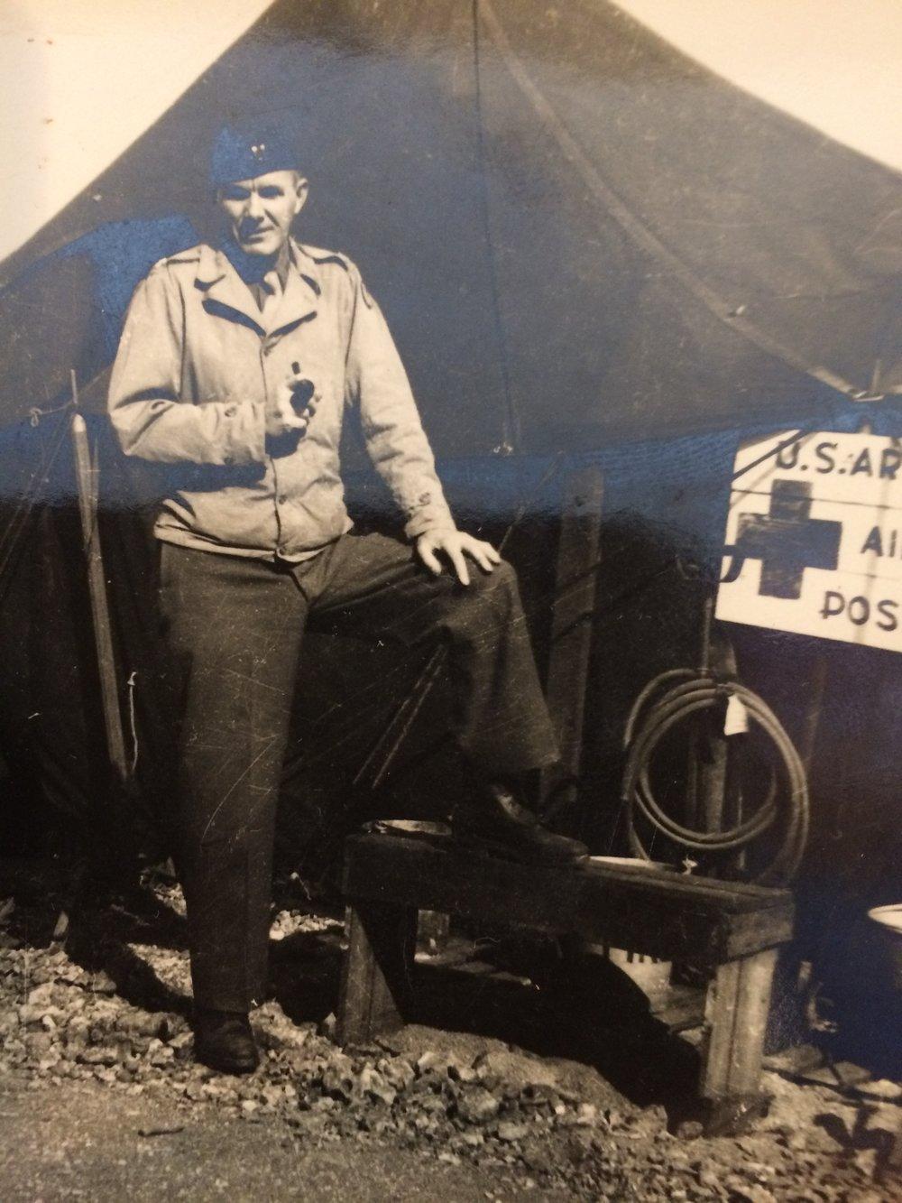 Bob's dad, Dr. Melvin Rackleff