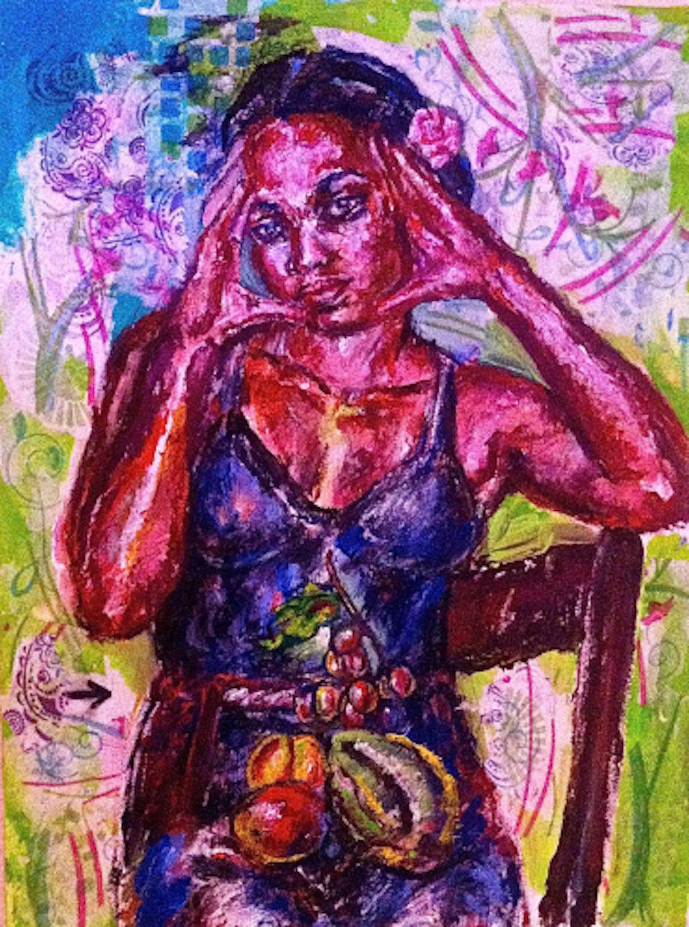 """Athena Resting"" 2014"