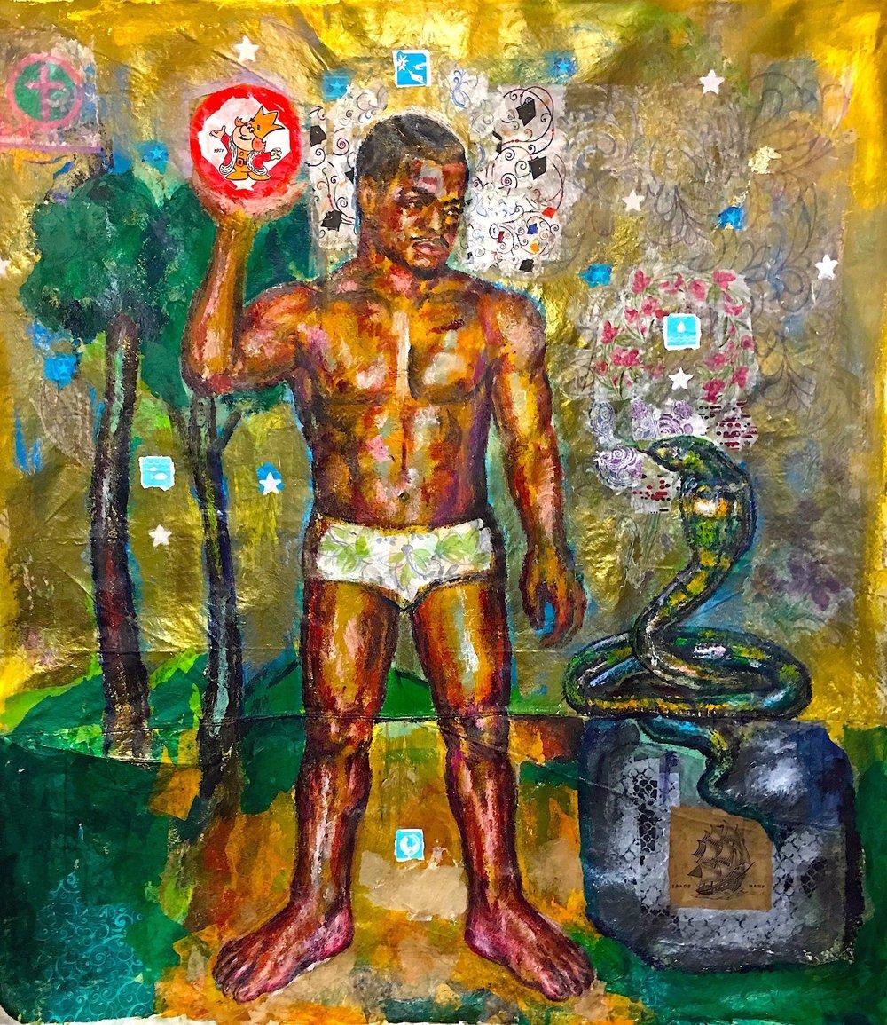 RFRANCIS:Mahavira&TheSnake2016 sm.jpg