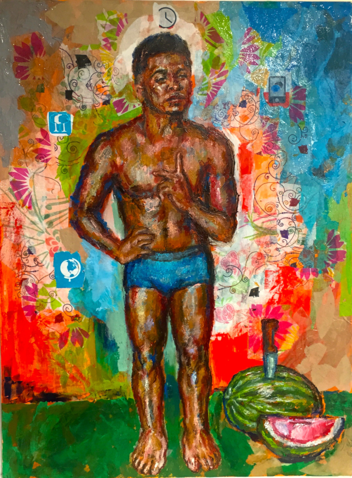 The Young Harlequin Spinning The Wheel of Fortune, 2015