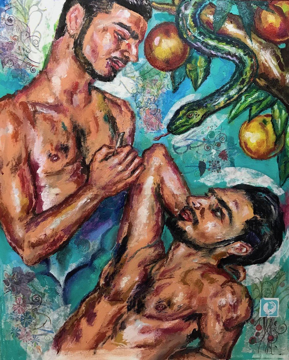 """Jupiter and Io"", 2018"