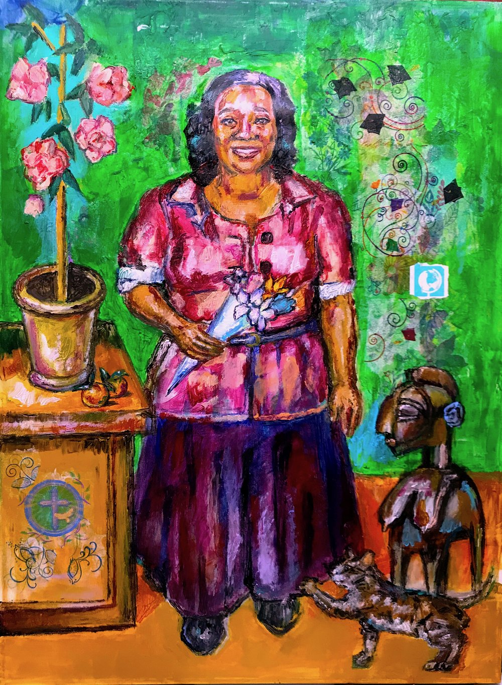 """Portia/Portrait of The Artist's Mother"", 2018"