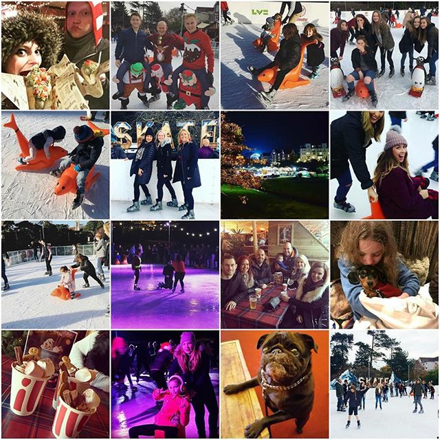 ❄️ It's been an incredible season on the ice! We just wanted to say a huge thank you to everyone who's taken the time to join us, leave feedback and tag us in their photos! ❄️ Keep tagging @iceskatebournemouth on Instagram for your chance to win one final prize to celebrate the season!  #collage #icerink #iceskate #customers #fun #festive #christmas #newyears #january #partytime #hotchocolate
