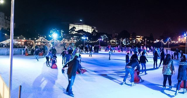 ⛸ Come on down and join us for a pre NYE skate on real ice! ⛸  #bournemouth #christmas #ice #skate #local #dorset #winter #epic #instagood #picoftheday